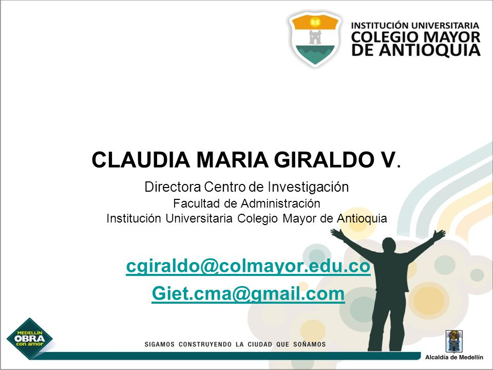 cgiraldo@colmayor.edu.co Giet.cma@gmail.com