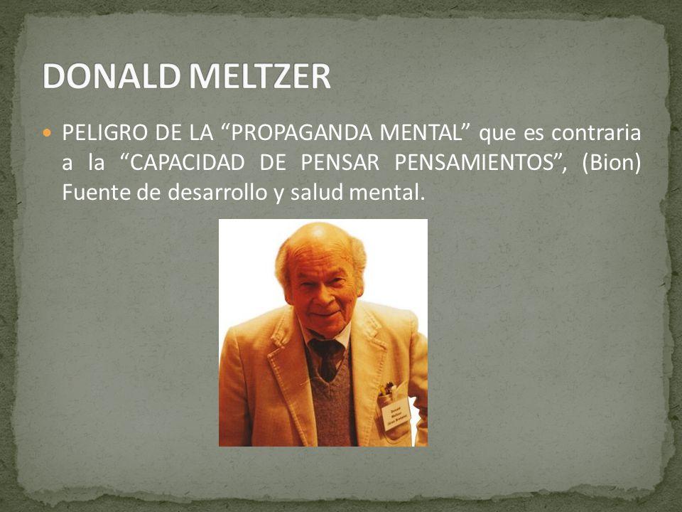 DONALD MELTZER