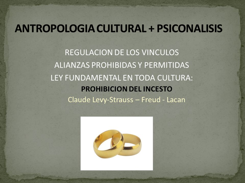 ANTROPOLOGIA CULTURAL + PSICONALISIS