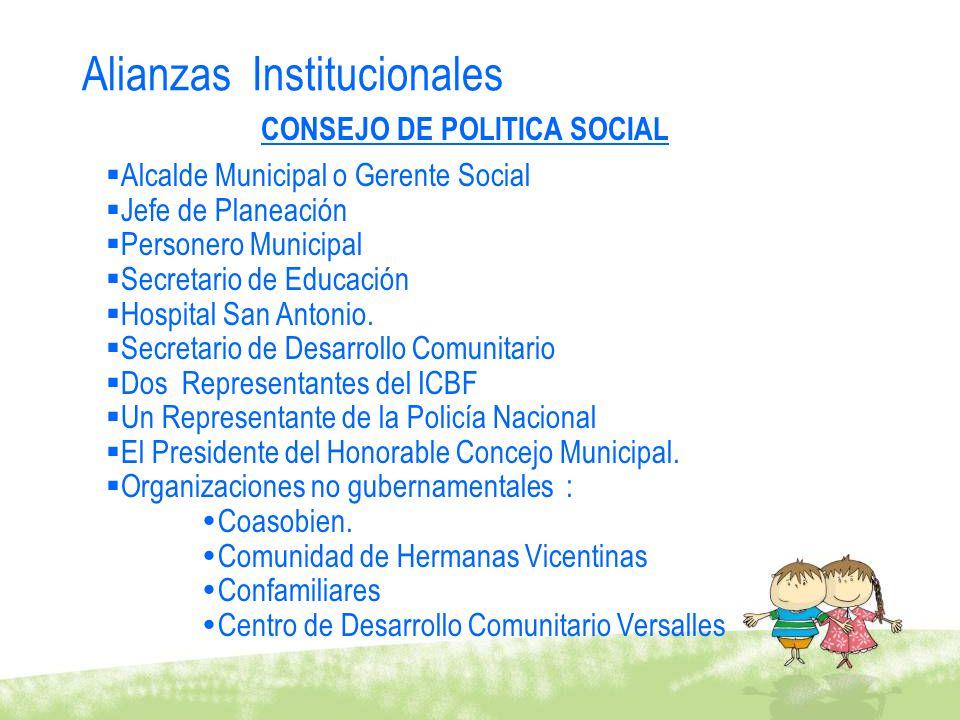 CONSEJO DE POLITICA SOCIAL