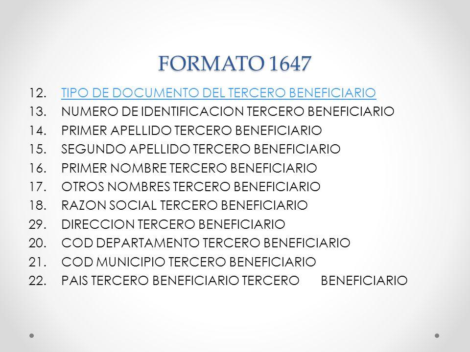 FORMATO 1647
