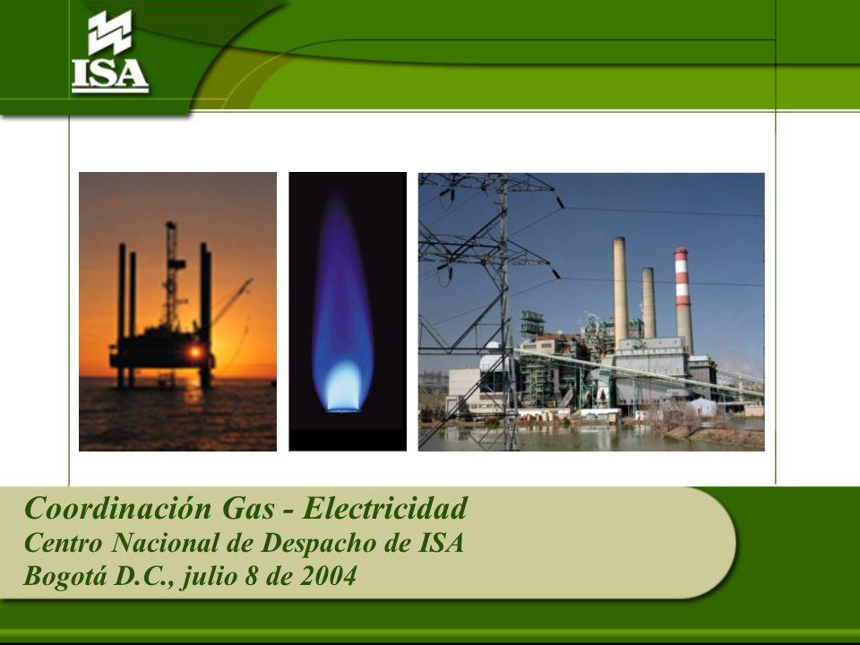 Coordinación Gas - Electricidad