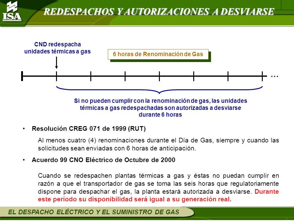 ... REDESPACHOS Y AUTORIZACIONES A DESVIARSE