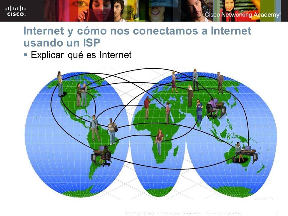 Internet y cómo nos conectamos a Internet usando un ISP