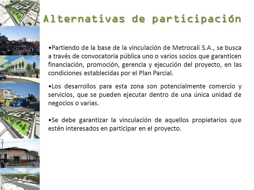 Alternativas de participación