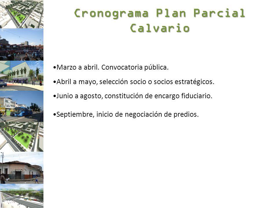 Cronograma Plan Parcial Calvario