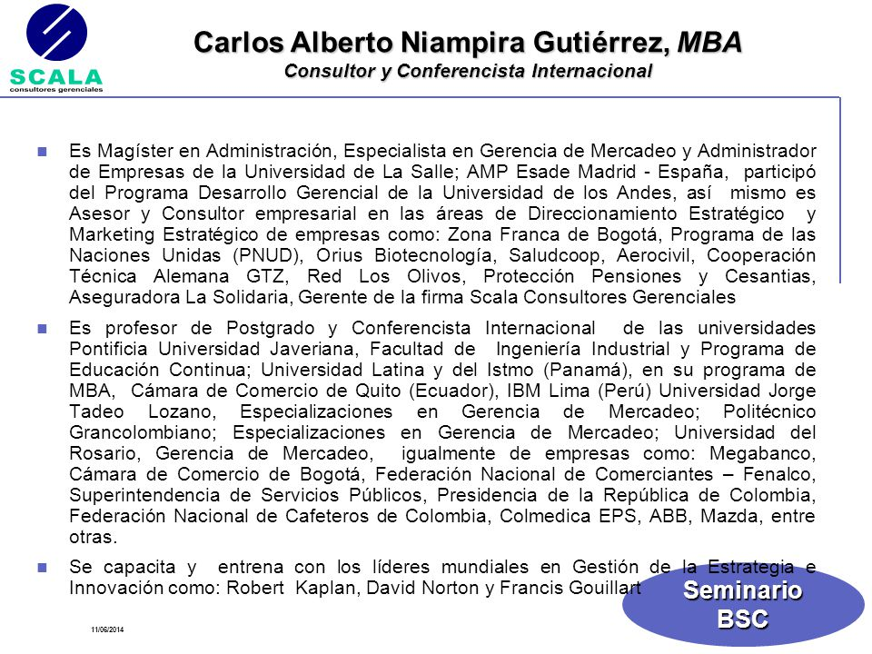 Carlos Alberto Niampira Gutiérrez, MBA