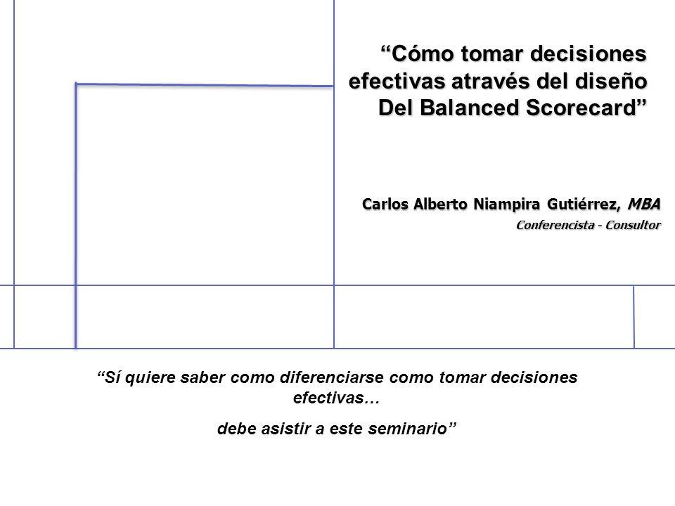 Carlos Alberto Niampira Gutiérrez, MBA Conferencista - Consultor