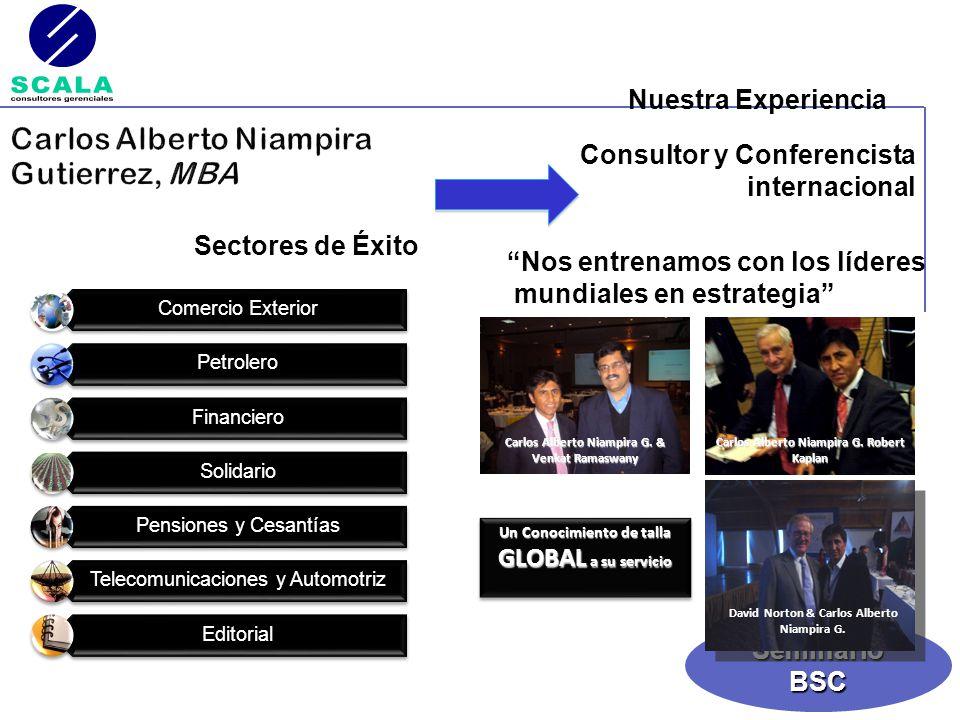 Carlos Alberto Niampira Gutierrez, MBA