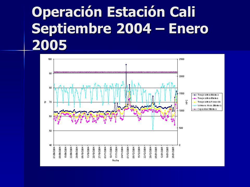 Operación Estación Cali Septiembre 2004 – Enero 2005