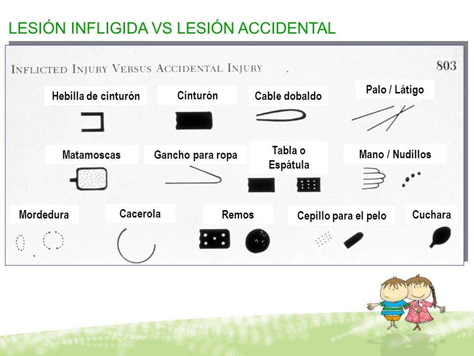 LESIÓN INFLIGIDA VS LESIÓN ACCIDENTAL