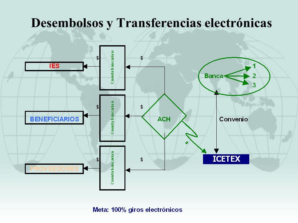Desembolsos y Transferencias electrónicas