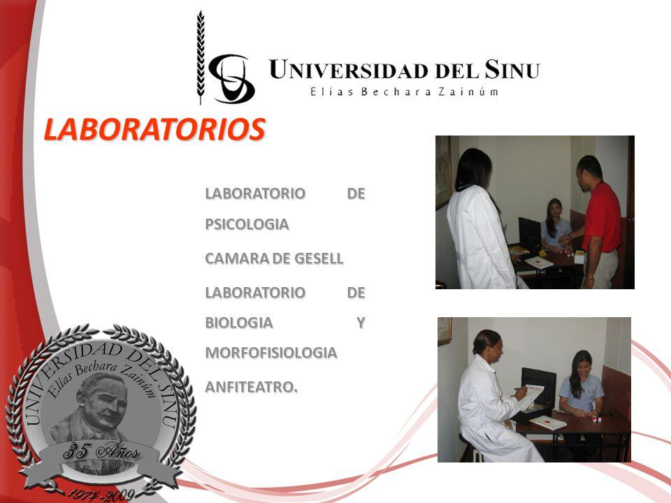 LABORATORIOS LABORATORIO DE PSICOLOGIA CAMARA DE GESELL