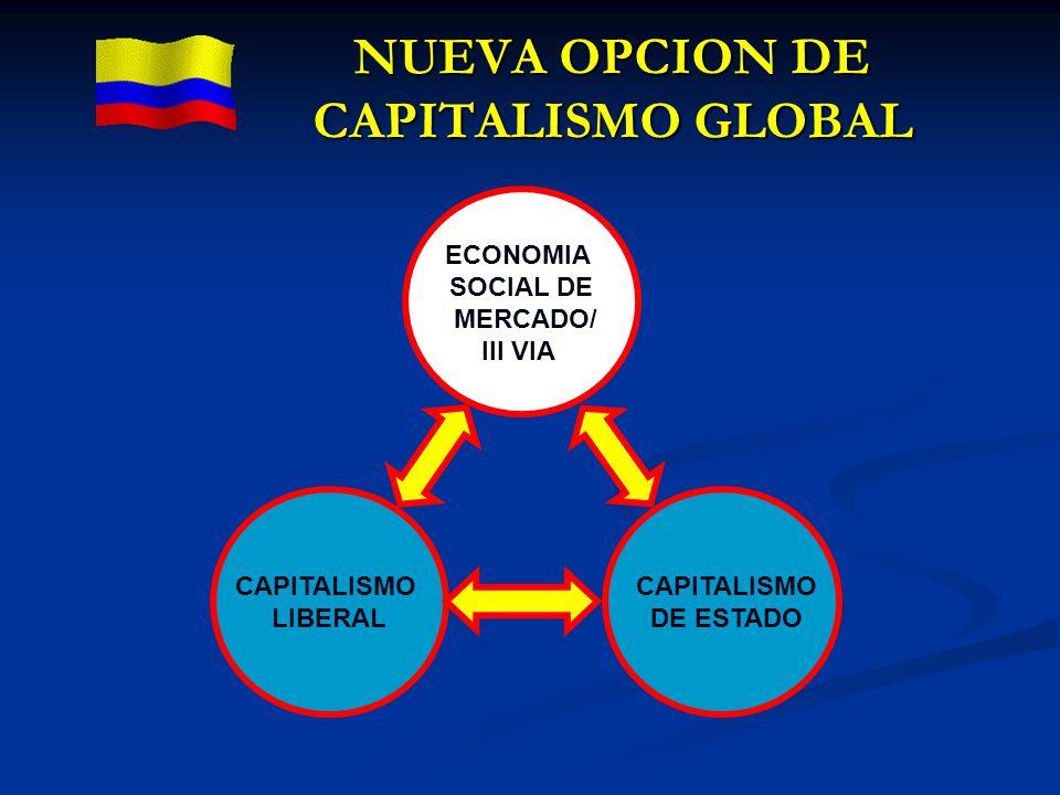 NUEVA OPCION DE CAPITALISMO GLOBAL