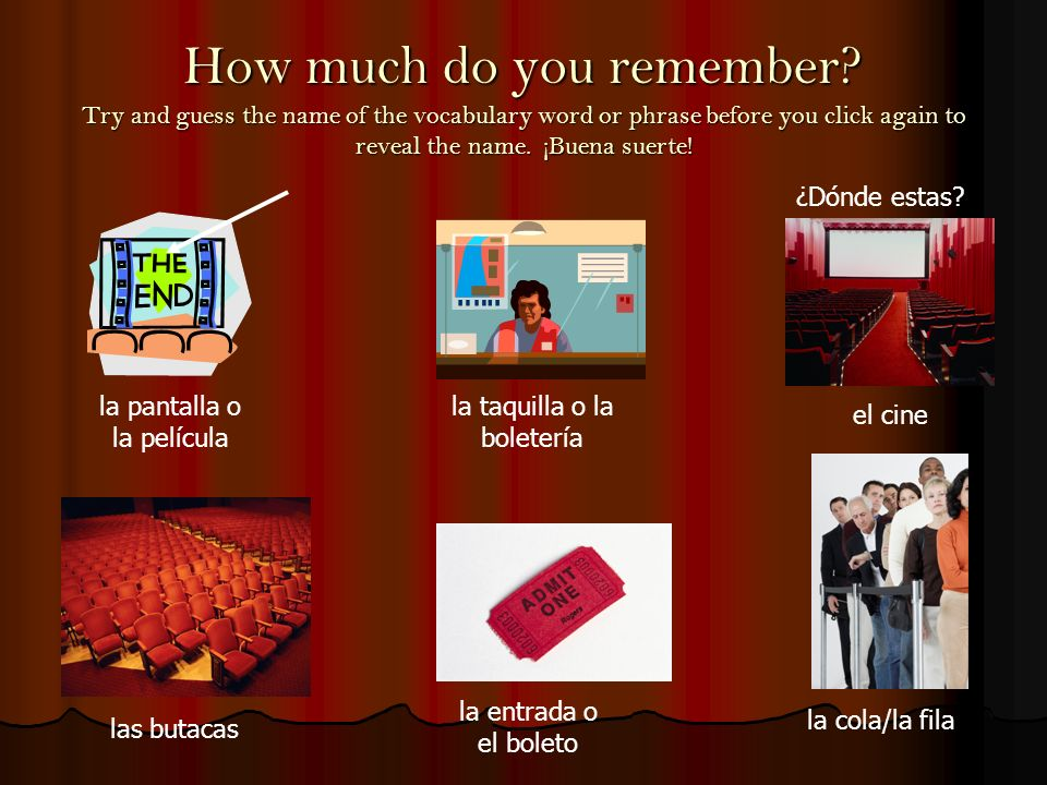 How much do you remember