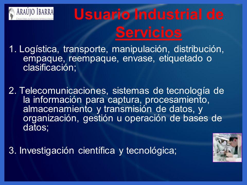Usuario Industrial de Servicios