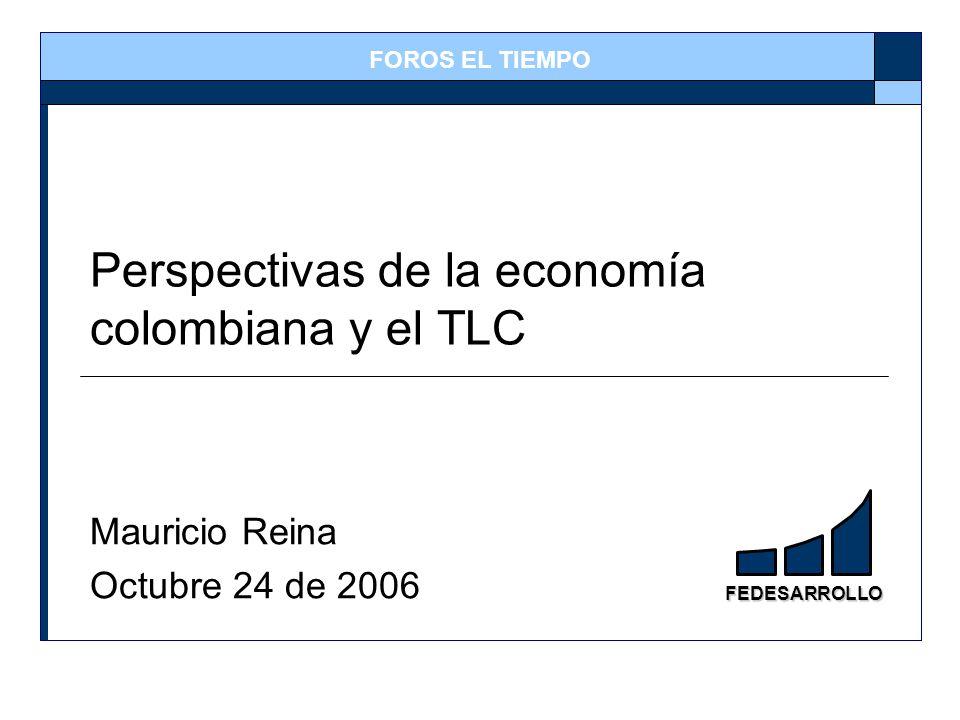 Perspectivas de la economía colombiana y el TLC