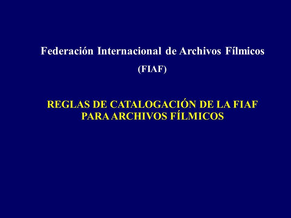 Federación Internacional de Archivos Fílmicos