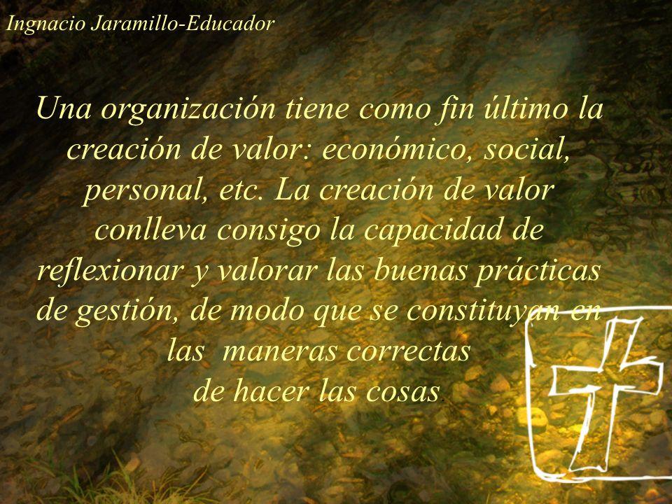 Ingnacio Jaramillo-Educador