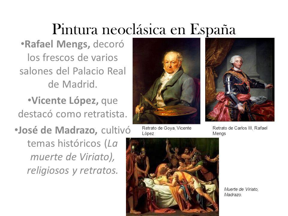Pintura neoclásica en España