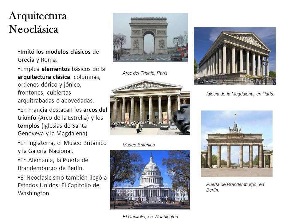 Arquitectura Neoclásica