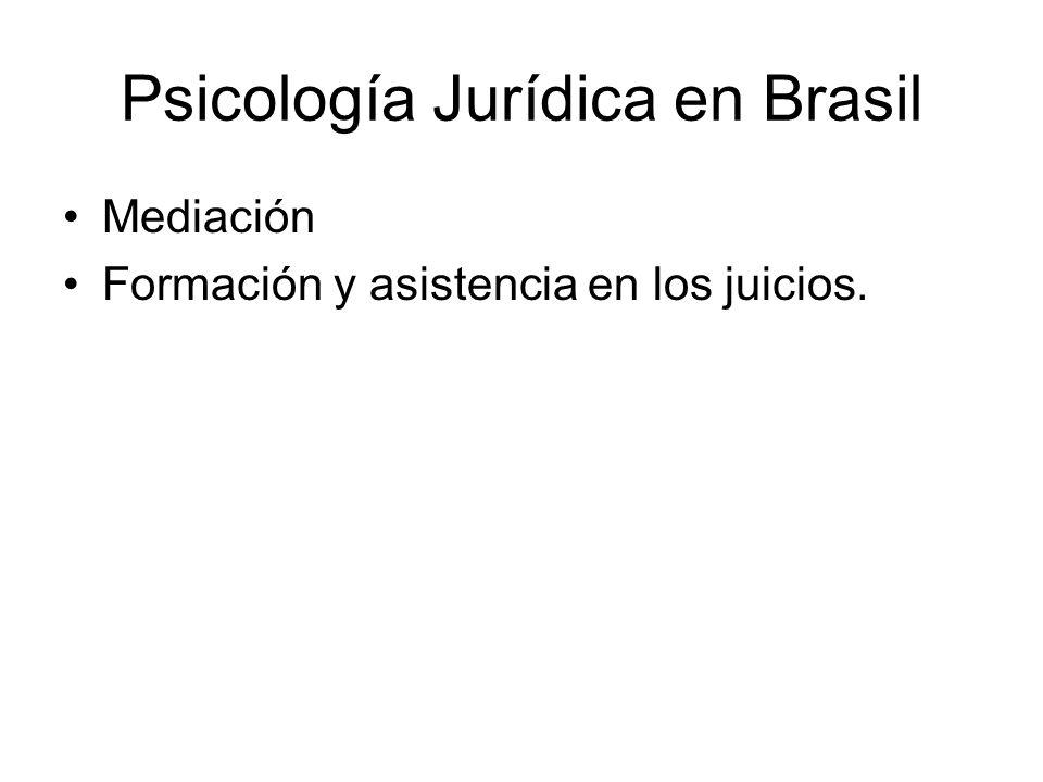 Psicología Jurídica en Brasil