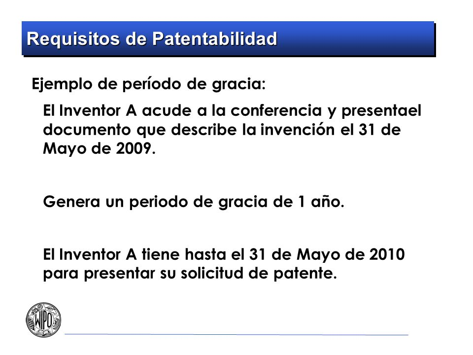 Requisitos de Patentabilidad