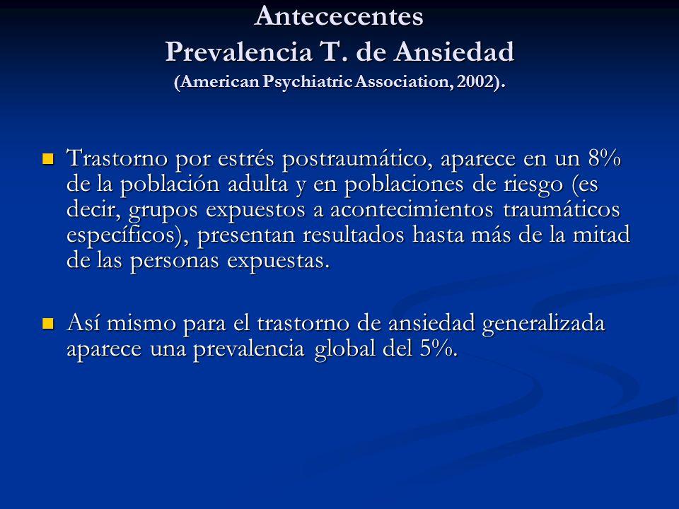 Antececentes Prevalencia T