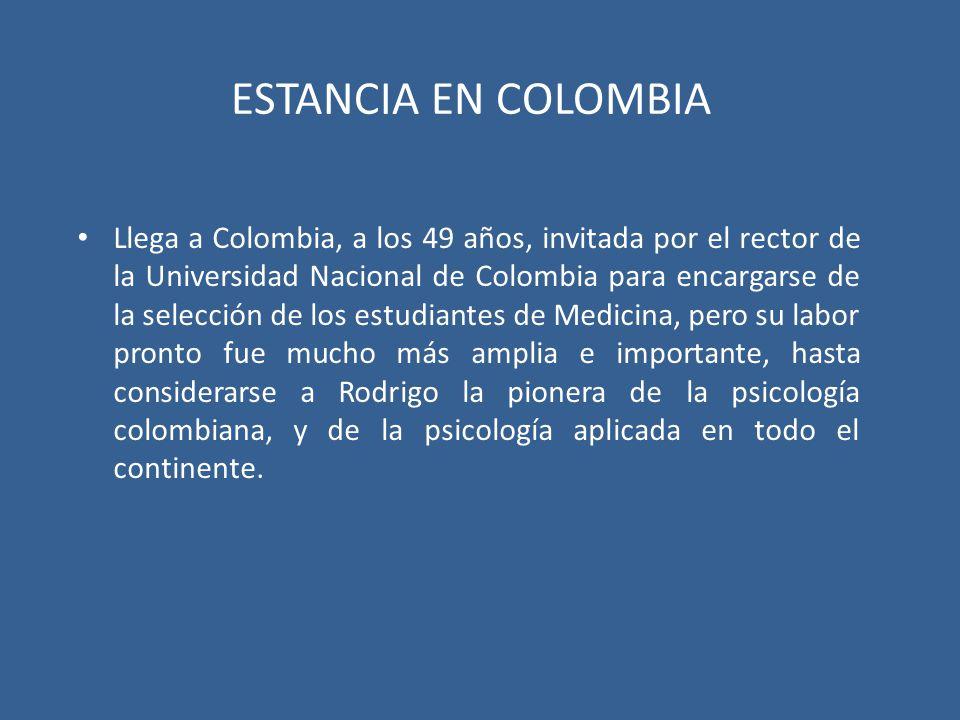 ESTANCIA EN COLOMBIA