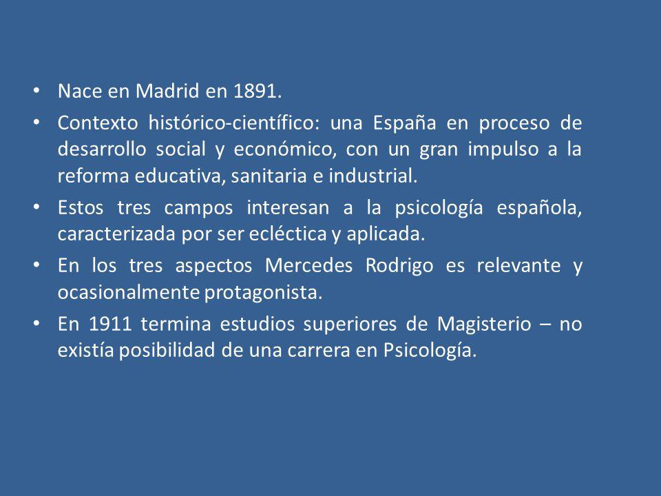 Nace en Madrid en 1891.