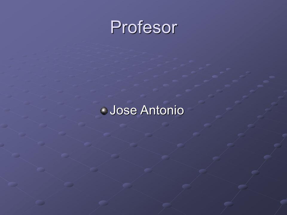 Profesor Jose Antonio