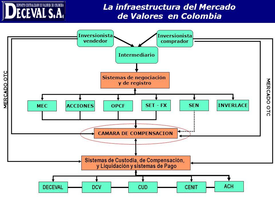 La infraestructura del Mercado