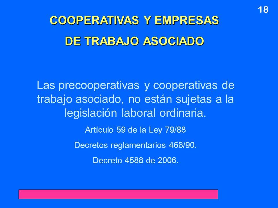 COOPERATIVAS Y EMPRESAS