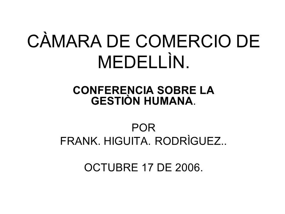 CÀMARA DE COMERCIO DE MEDELLÌN.