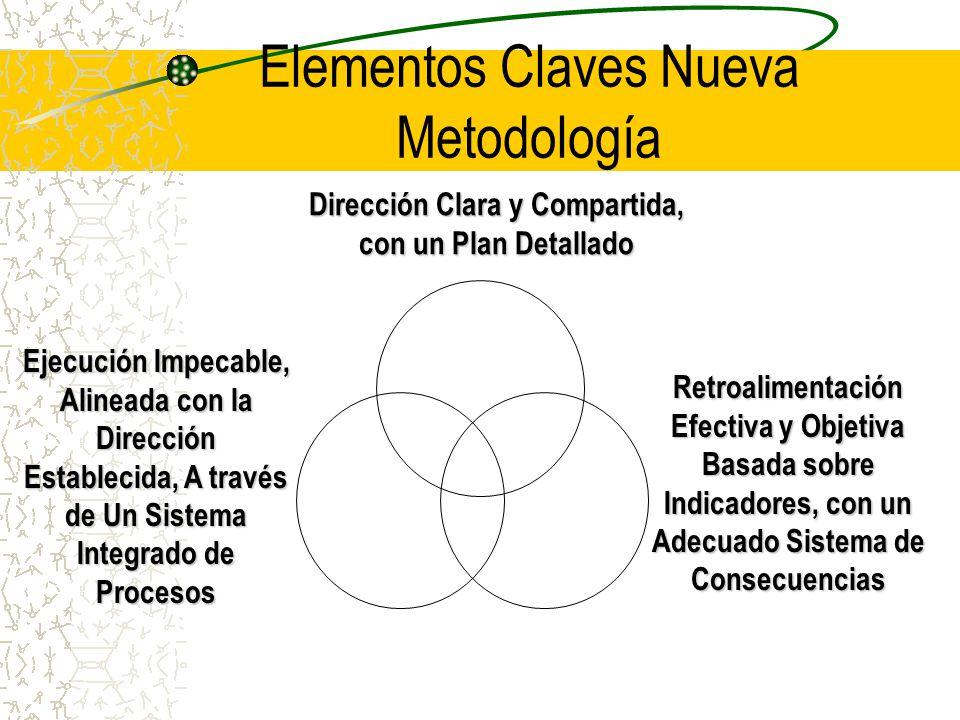 Elementos Claves Nueva Metodología