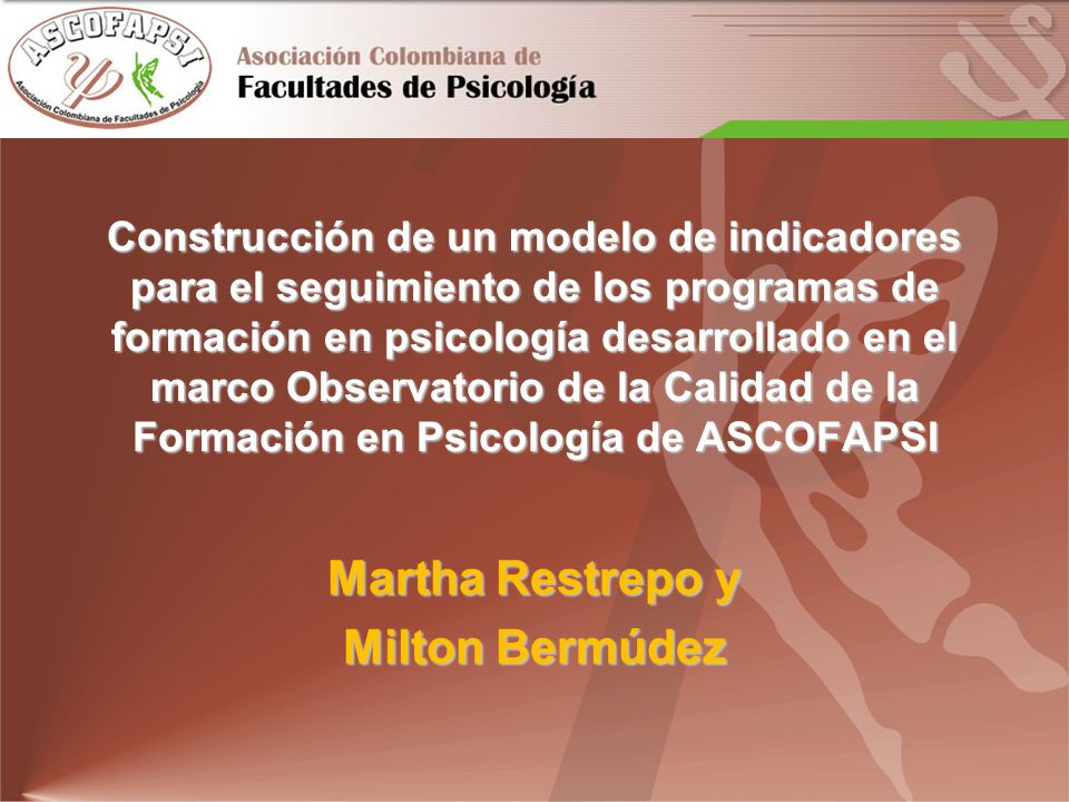 Martha Restrepo y Milton Bermúdez