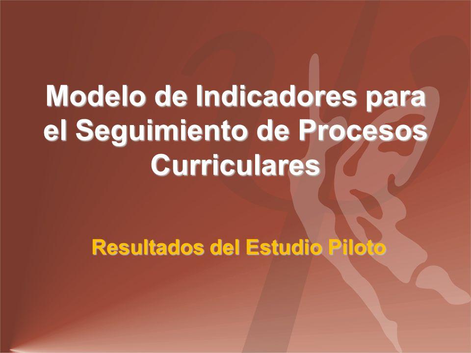 Modelo de Indicadores para el Seguimiento de Procesos Curriculares