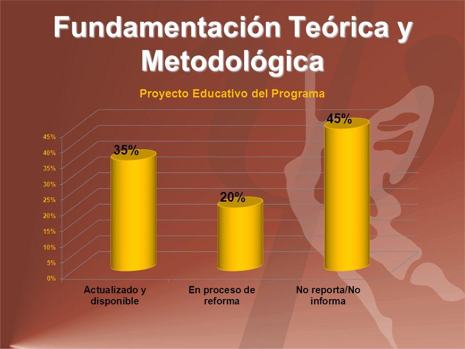 Fundamentación Teórica y Metodológica