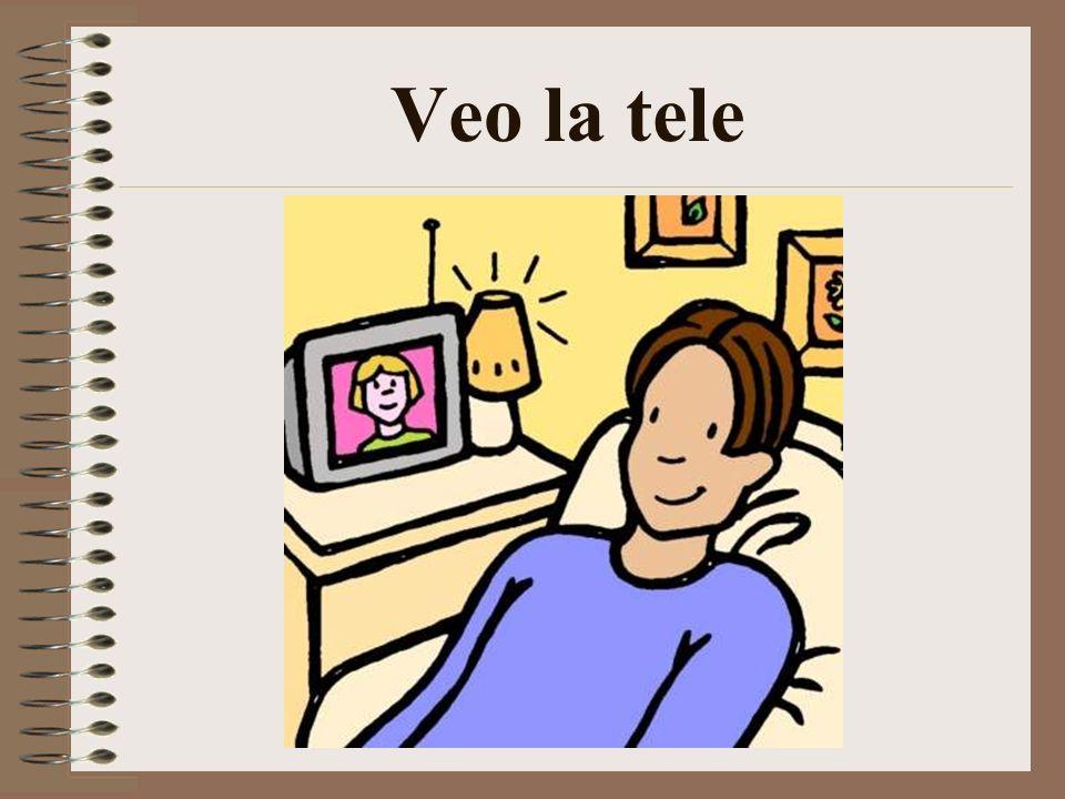 Veo la tele
