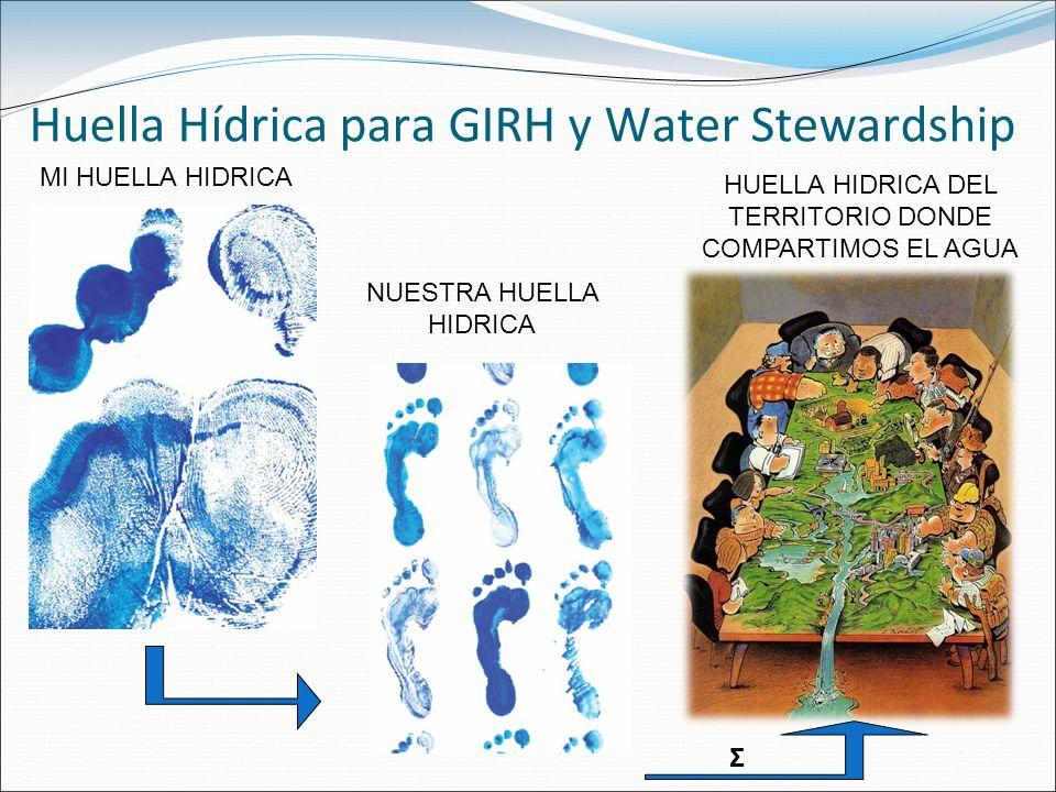 Huella Hídrica para GIRH y Water Stewardship