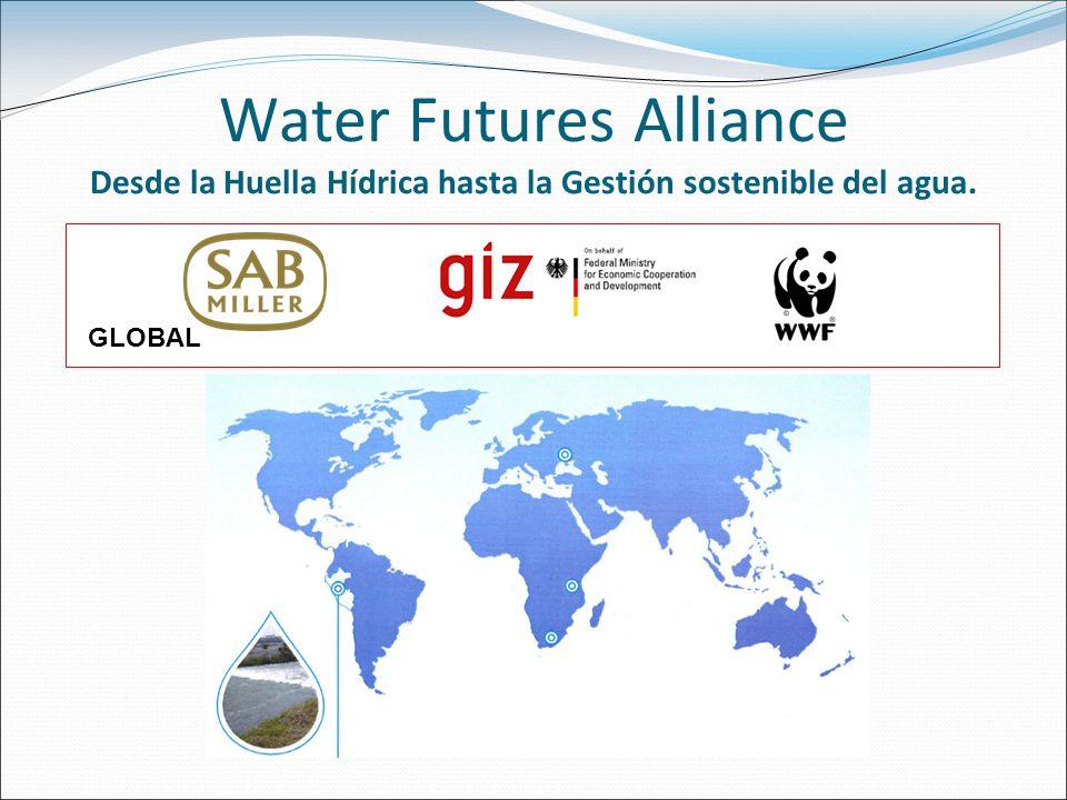 Water Futures Alliance Desde la Huella Hídrica hasta la Gestión sostenible del agua.