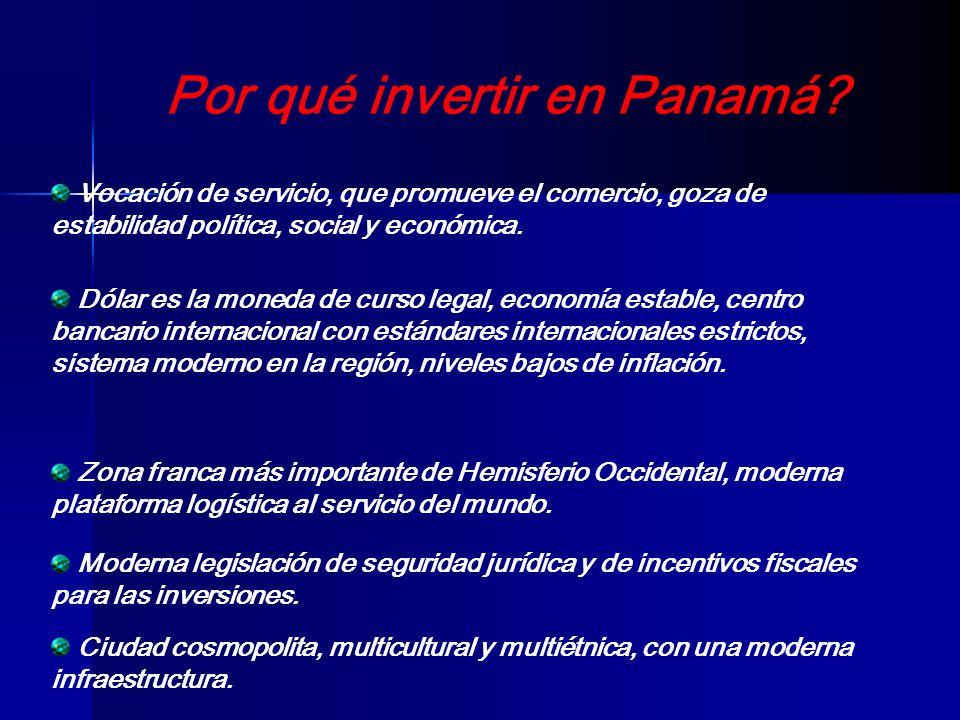 Por qué invertir en Panamá