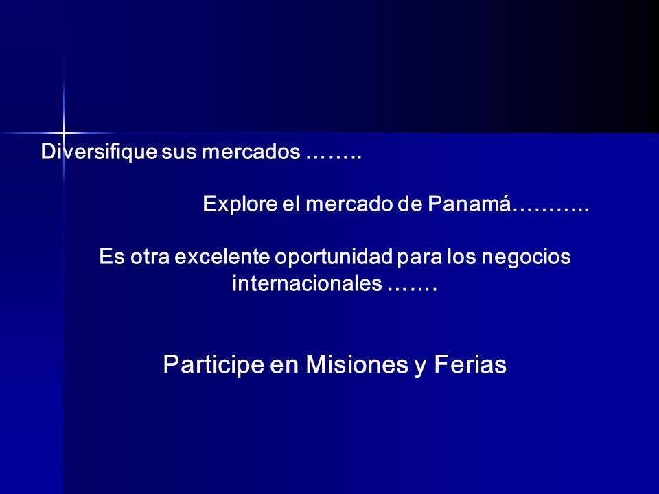 Participe en Misiones y Ferias