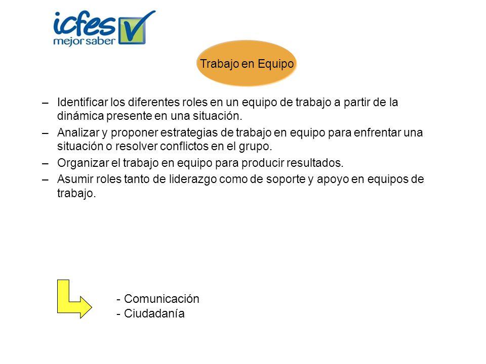 Comunicación Ciudadanía Trabajo en Equipo