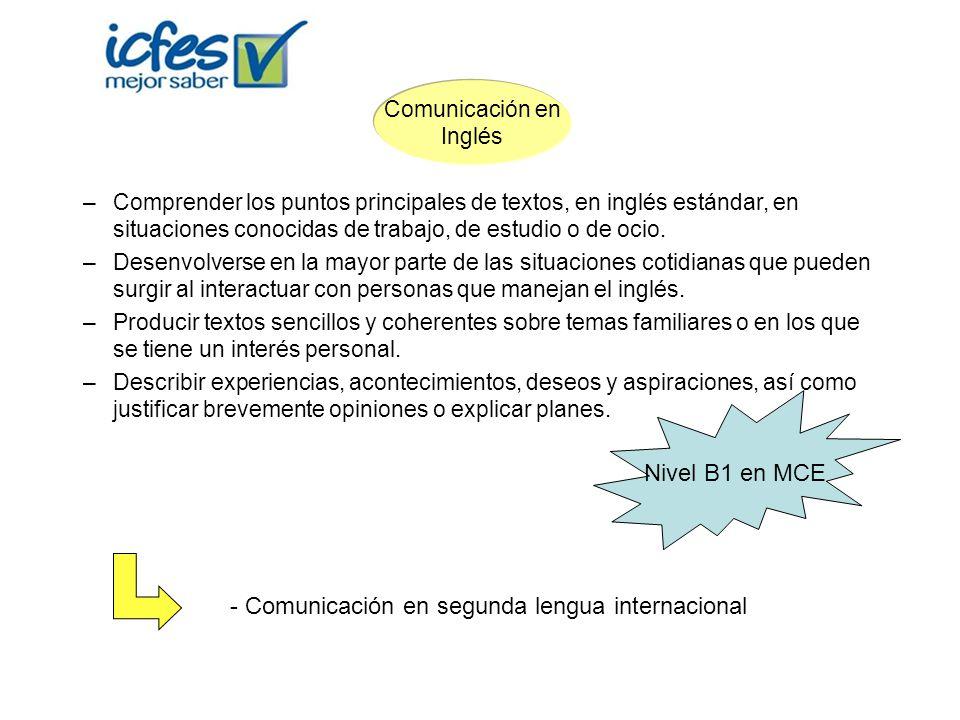 Comunicación en segunda lengua internacional