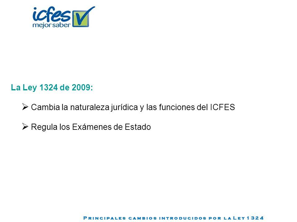 Cambia la naturaleza jurídica y las funciones del ICFES