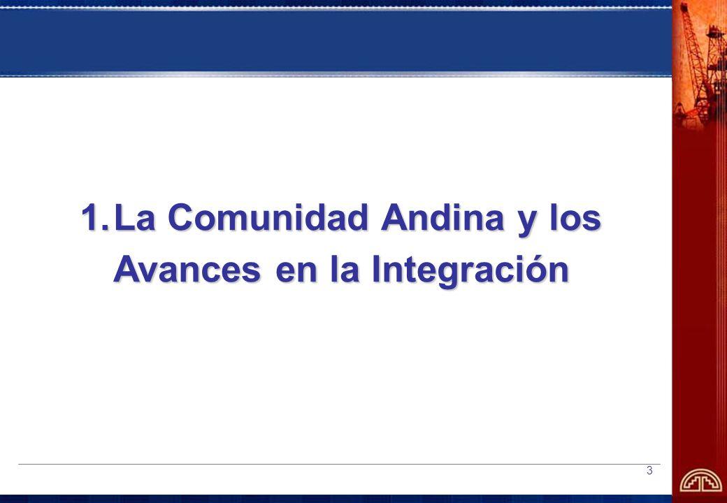 La Comunidad Andina y los Avances en la Integración