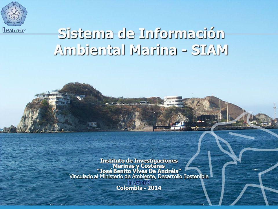 Sistema de Información Ambiental Marina - SIAM