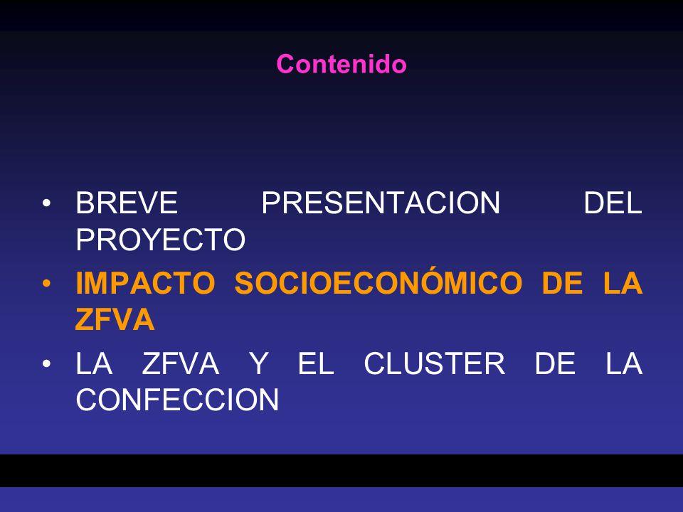 BREVE PRESENTACION DEL PROYECTO IMPACTO SOCIOECONÓMICO DE LA ZFVA