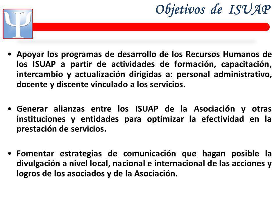 Objetivos de ISUAP
